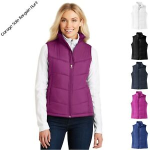 c75eacf9c4803 Image is loading Ladies-Womens-Puffer-Vest-Jacket-Sleeveless-Quilted-Padded-