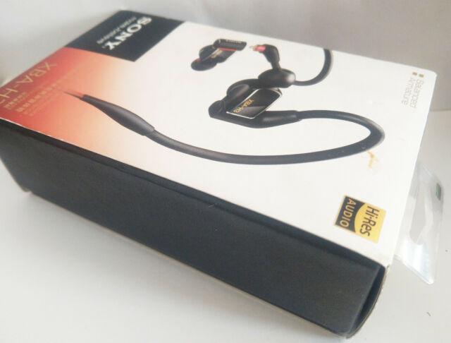 SONY Hi-Res Earphones XBA-H3 Hybrid LARGE 16MM dynamic + 2 BA Headphones