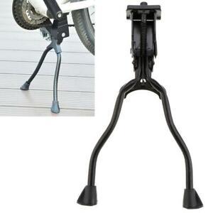 Mountain Bike Kickstand 26/'/' Bicycle Aluminum Kick Double Leg Mount Stand W7H6