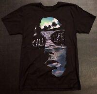 Ring Of Fire Cali Punk Life Black T-shirt In Xl