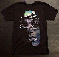 Ring Of Fire Cali Punk Life Black T-shirt In Small