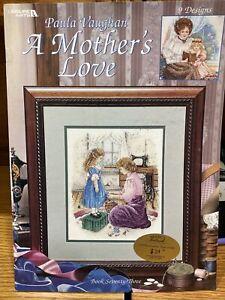 Leisure Arts Paula Vaughan A Mother's Love 9 Designs #3193 Book 73 Cross Stitch