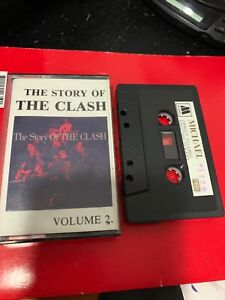 THE-STORY-OF-THE-CLASH-VOLUME-2-Michael-1129-Cassette-Tape-Rare