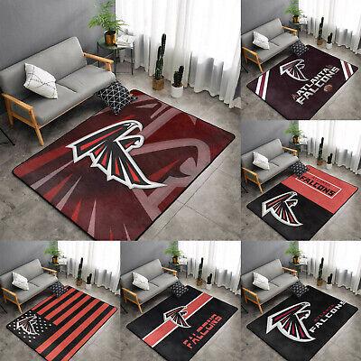 Atlanta Falcons Fluffy Rugs Living Room Bedroom Floor Mat Rug Anti-Skid Carpet