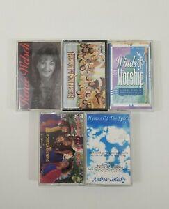Christian Praise Worship Cassette Lot of 5 Titles SEE DESCRIPTION FOR TITLES