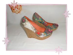 20ps108 Pumps Desigual Size Wedges 37 Psychedelic Fantasies A XIqwdxHpI