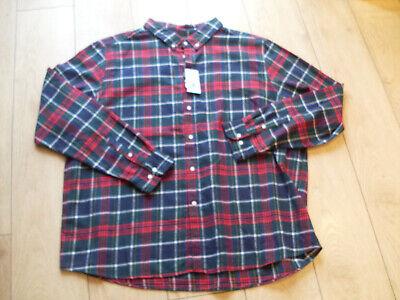 matalan  mens 100 soft cotton casual shirt  red check