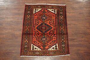1-NR-Antique-3X5-Persan-Karajeh-Sarab-Hand-Knotted-Wool-Carpet-Rug-3-3-x-4-6