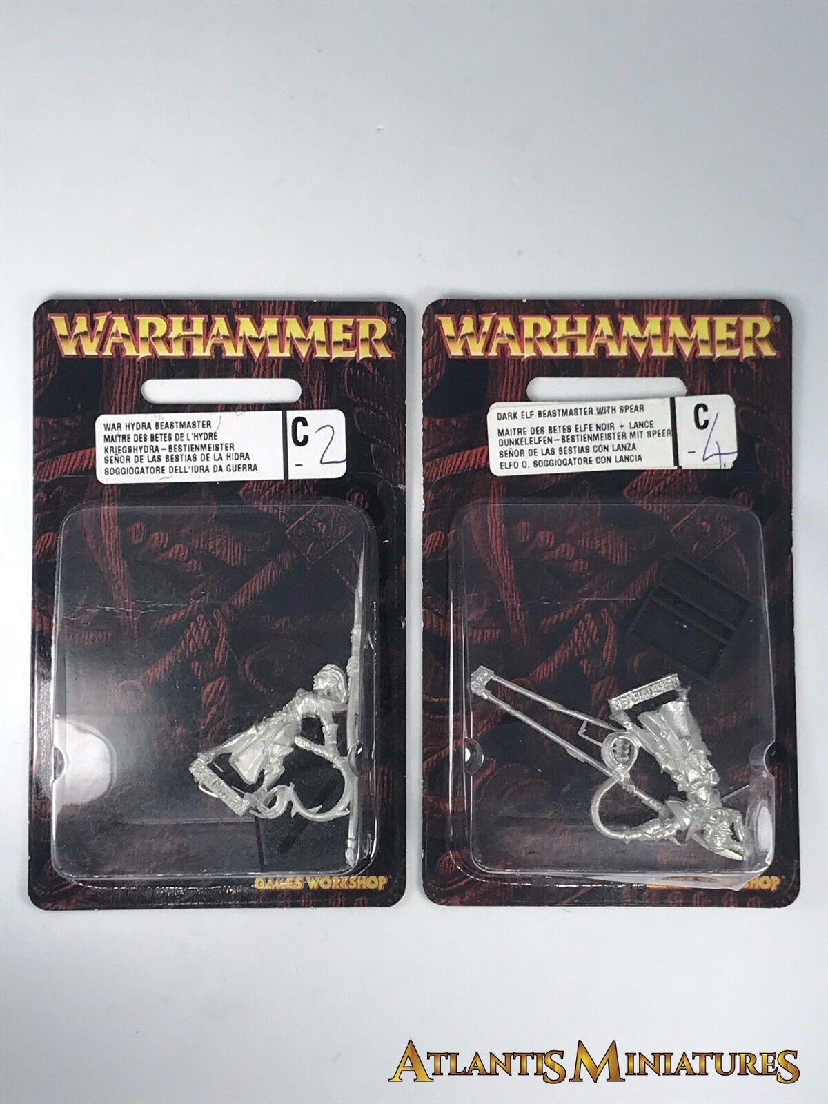 Metall dunkelelfen beastmaster blister - oop - warhammer   alter von sigmar cc546