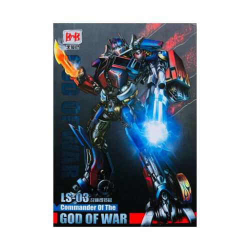 "LS-03 30cm Commander OP Optimus Prime Oversize Action Figure 12.5/"" Kid toys"
