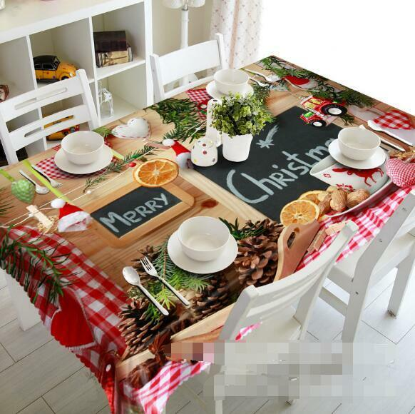 3D Foods 86 Tablecloth Table Cover Cloth Birthday Party Event Event Event AJ WALLPAPER AU fd55b6