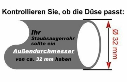 Bodendüse Kombi Staubsaugerdüse Ersatz für AEG Electrolux VAMPYR 5090.0,5200,770