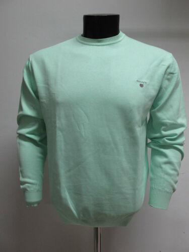 88171 Pull Ronde Encolure 2xl Vert Menthe Coton Couleur Art Gant Taille Homme nqOwffAY