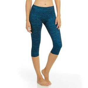 99d8836c835eb8 Image is loading Womens-Marika-Yoga-Pants-Fitted-Capri-Running-Leggings-