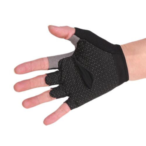 Halbfinger Handschuhe Fahrradhandschuhe Radsporthandschuhe Radfahren L 3#