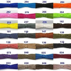 3mm-Core-Paracord-Parachute-Cord-Lanyard-Tent-Outdoor-Survival-Rope-50-100FT