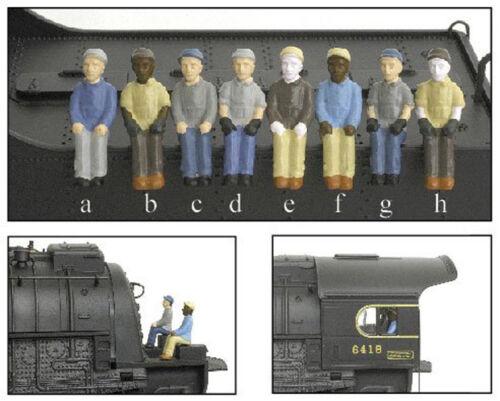 BroadWay Limited 1006 HO N N/&W 4-Pack A a,b,c,d Figures