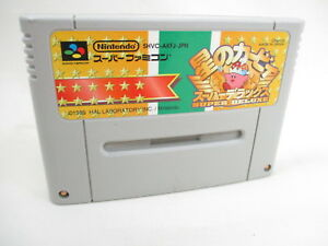 KIRBY-SUPER-STAR-DX-Deluxe-Super-Famicom-Nintendo-Free-Shipping-sfc
