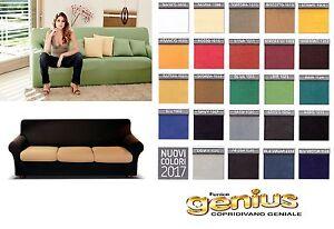 Copridivano genius color biancaluna divani da 2 3 4 posti bielastico unito ebay - Copricuscini divano genius ...