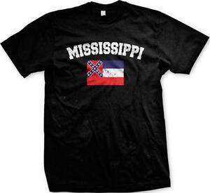 Mississippi flag magnolia hospitality state pride mens t shirt for T shirts jackson ms