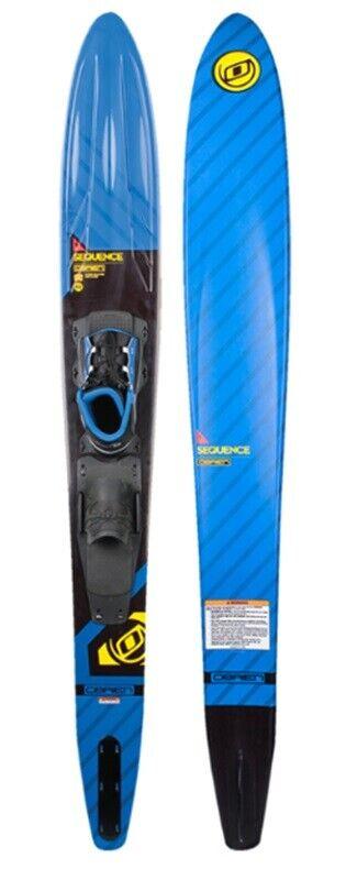 2019 o'Brien Sequenza Slalom Sci D'Acqua, 170cm o 175cm Blu Nero. 37516