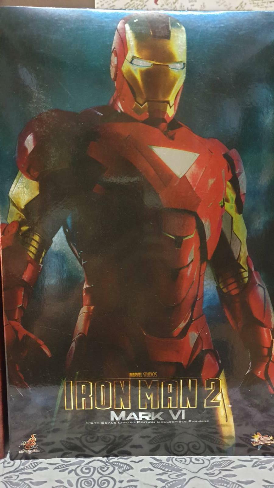 Heta leksaker 1 6 Iron Man 2 Mark VI mms 132