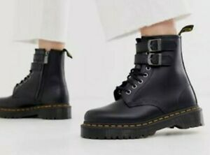 Dr. Martens 1460 Chunky Buckle Boots