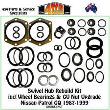 SHWB13JP Swivel Hub Rebuild Kit Wheel Bearing & Nut upgrade fit Nissan GQ Patrol