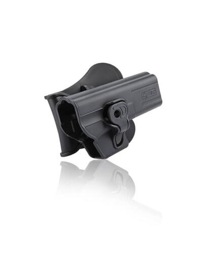 Cytac Holster Fits Glock 17 Holster Right hand Level 2 belt and paddle Holster
