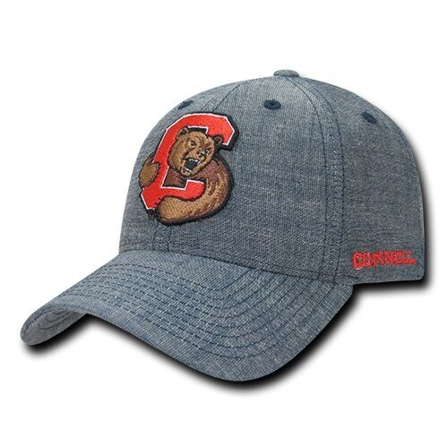 Cornell University Big Red NCAA Structured Cotton Denim Baseball Ball Cap  Hat for sale online  8a4b3859306