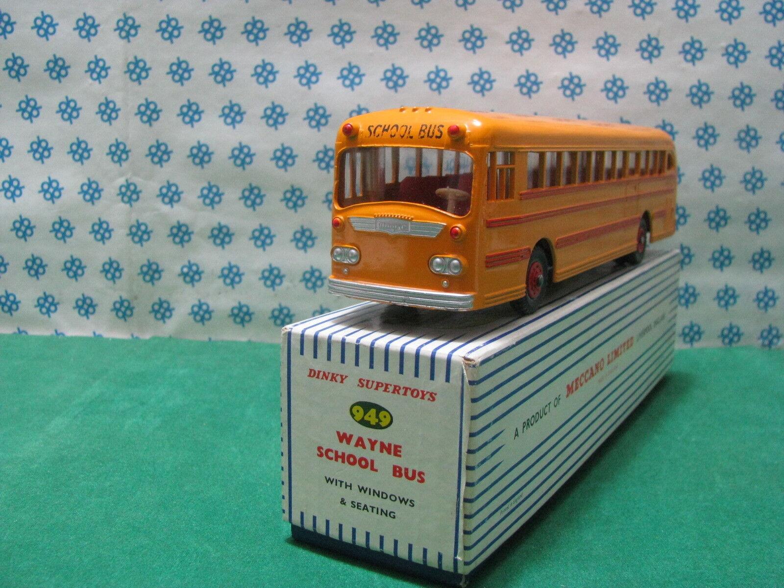 Vintage Dinky Toys 949 - Wayne School Bus - Mint Boîte