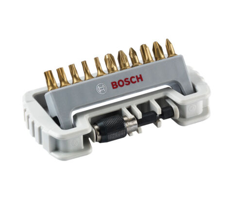 T PH BOSCH Schrauberbit-Set MAXgrip PZ 11-teilig Schnellwechselhalter