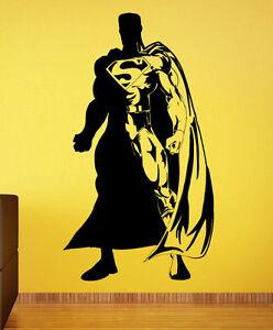 Image Is Loading Superman Wall Decal Vinyl Sticker Comics Superhero Atr