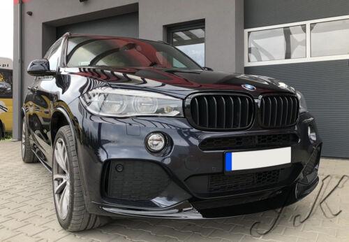 BMW X5 F15 Parachoques Delantero Alerón Difusor de labios solo modelos Sport añadir en