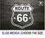 Route-66-Vinilo-Sticker-Vinyl-Decal-Autocollant-Adesivi-Aufkleber-Pegatina-Star