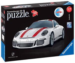 12528-Ravensburger-Porsche-911-3D-Jigsaw-Puzzle-108-Haute-Qualite-Pieces-8-Ans