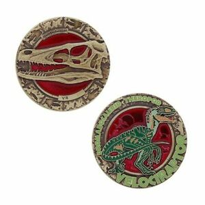 Dinosaur-Series-Velociraptor-groundspeak-Geocahing-Limite-Edition-Dino