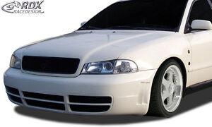 RDX-Motorhaubenverlaengerung-AUDI-A4-B5-Metall-Boeser-Blick-Haubenverlaengerung