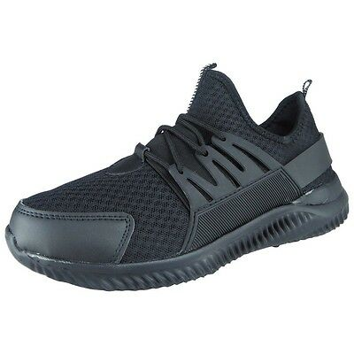 Mens Ladies Running Trainers Womens Fitness Gym Sports Comfy Lace Up Shoes