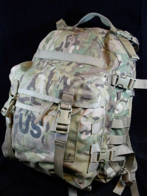 Multicam OCP USGI Army Assault Pack 3 Day Backpack + Hydration Carrier