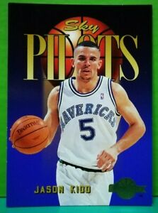 Jason Kidd rookie subset card Sky Pilots 1994-95 Skybox #343