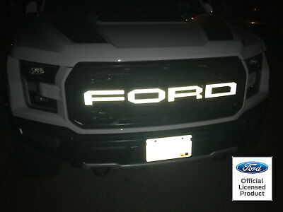 FORD RAPTOR SVT GRILL LETTER VINYL STICKERS DECALS 60 COLORS LETTERS GRILLE