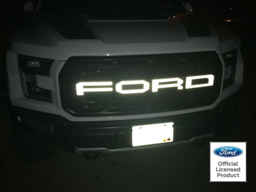 FORD RAPTOR SVT F-150 REFLECTIVE GRILLE LETTERS VINYL STICKERS DECALS 2017 GRILL