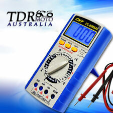 Electrical LCD Digital Multimeter Ohmmeter Multi OHM Tester AC DC Voltmeter.