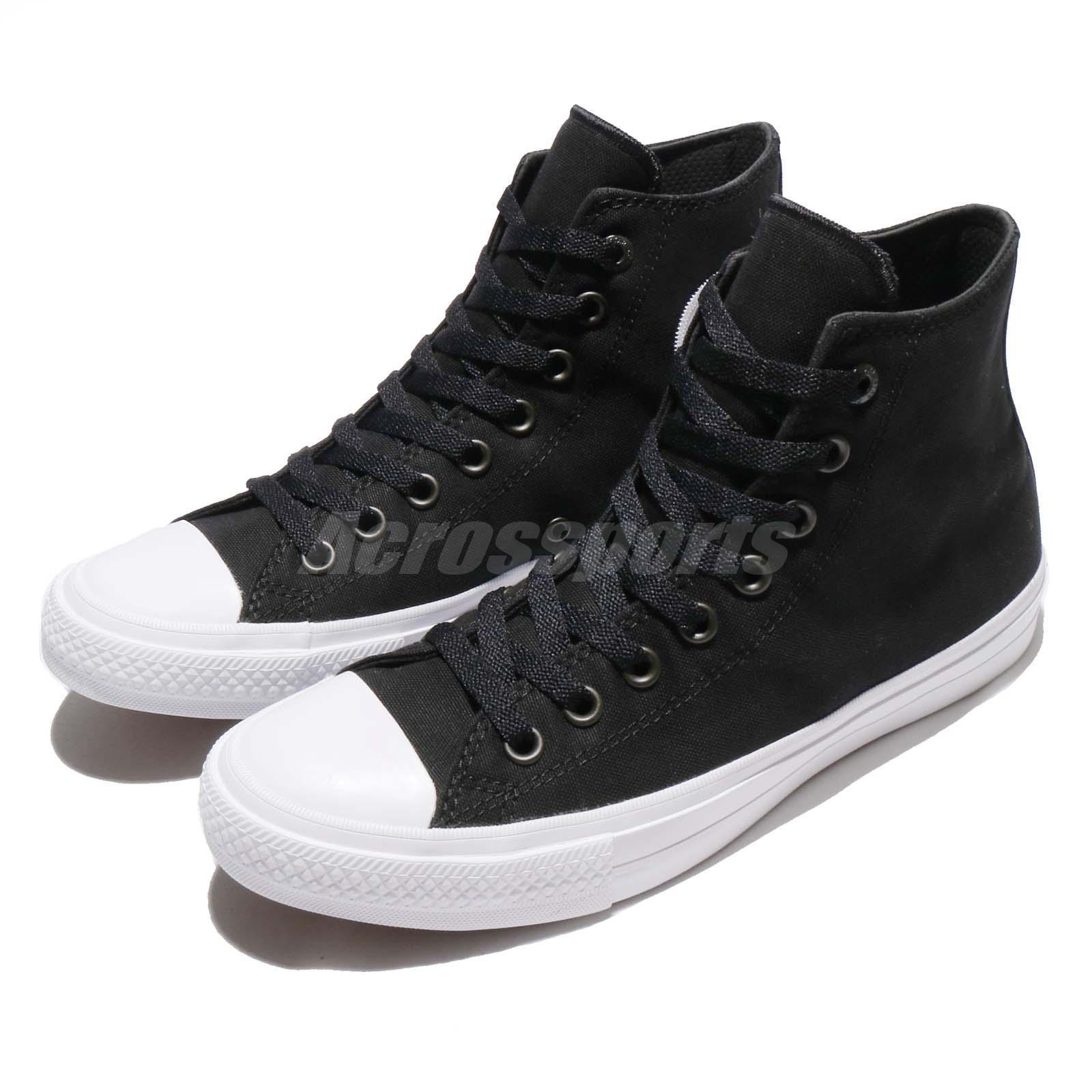Converse Chuck Taylor All Star Signature II 2 Lunarlon Noir Men Chaussures 150143C