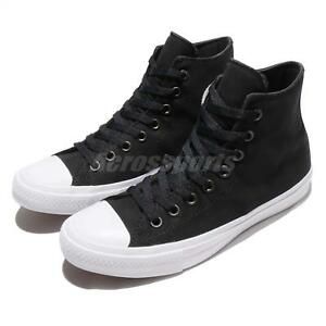 abc3feb84f1e Converse Chuck Taylor All Star Signature II 2 Lunarlon Black Men ...