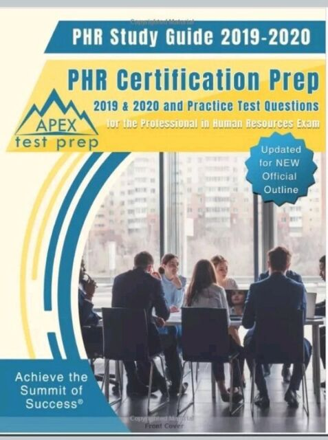 Best Sat Prep Book 2020.Phr Study Guide 2019 2020 Phr Certification Prep And Practice Test Questions New