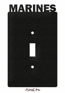 swen products armed services us marines corp usmc light switch plate