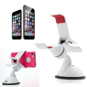 Universal-Adjustable-Car-Phone-Holder-Windscreen-Suction-Clip-Mount-Cradle-Stand