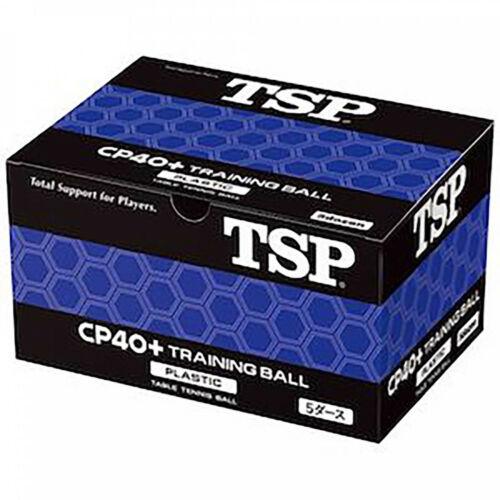 Trainingsball weiß TOP Tischtennisball 60 Stück im Karton TSP CP40